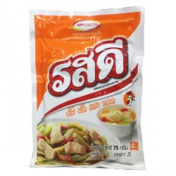 Ajinomoto Rosdee 75g รสดีหมู Thai Pork Flavour Seasoning with garlic and pepper