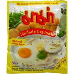 Mama Instant Rice Porridge 50g Chicken Flavour Thai...