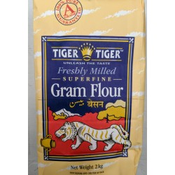 Tiger Tiger - Superfine Gram Flour 2kg Freshly Milled