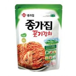 Chongga Pog Gi Whole Cabbage Kimchi 500g Fresh Kimchi