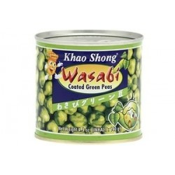 Khao Shong Wasabi Coated Green Peas 140g Wasabi Peas