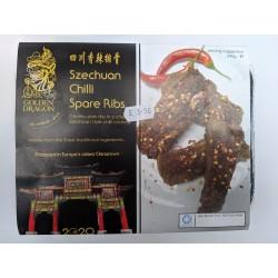 Golden Dragon Szechuan Chilli Spare Ribs 245g Frozen Chilli Ribs