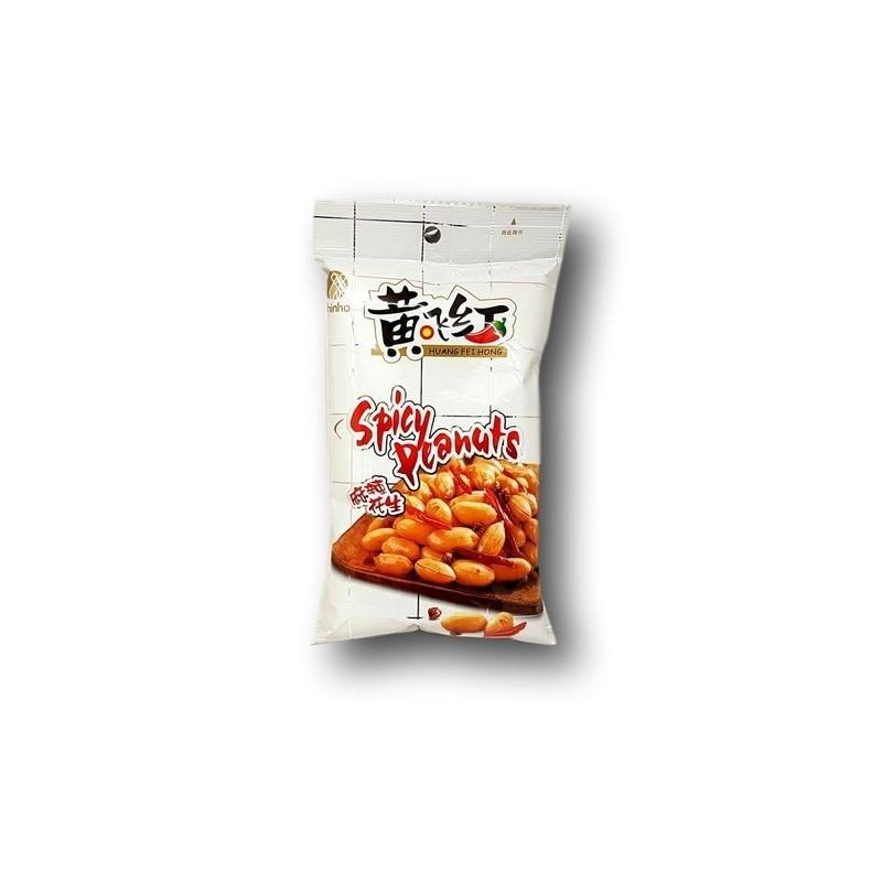 Huang Fei Hong Spicy Peanuts 110g Spicy Peanuts