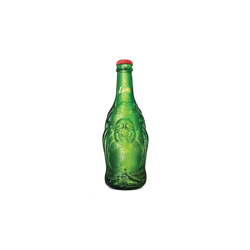 Lucky Buddha 330ml Chinese Beer in Lucky Buddha Bottle
