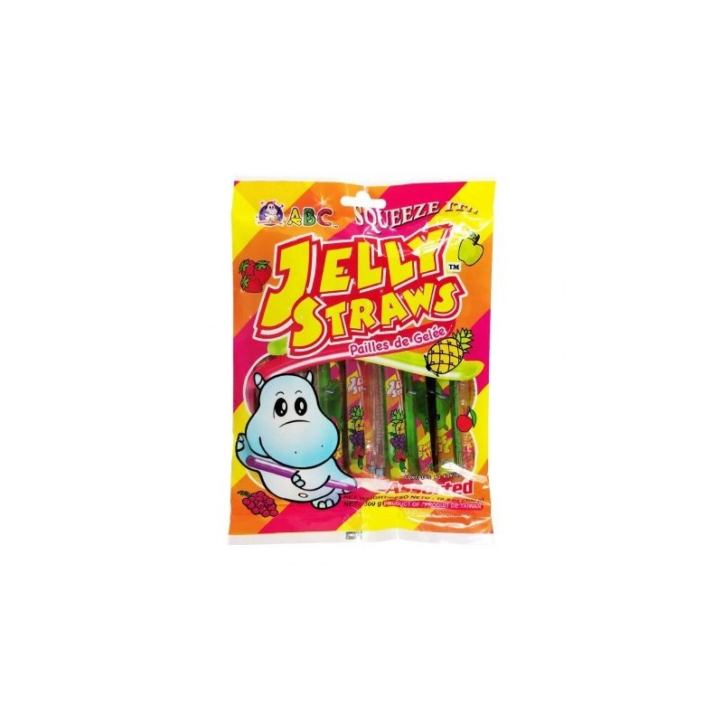 ABC Fruit Flavour Jelly Bar Assorted Flavour 300g Fruit Jelly Bars