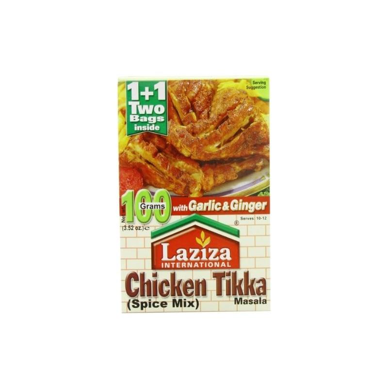 Laziza Chicken Tikka 100g Chicken Tikka Mardinade