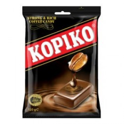 Kopiko Coffee candy 120g Cofee flavoured Boiled Sweets