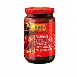 LKK Sichuan Style Hot & Spicy 360g Lee Kum Kee Sichuan Stir Fry Sauce
