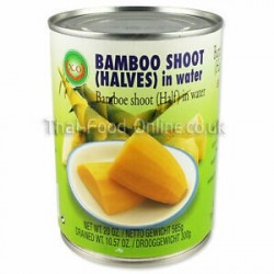 XO Bamboo Shoot (Halves) in water 565g Thai Bamboo Shoots