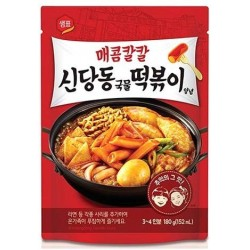 Sempio Topokki Sauce Korean Tteokbokki 180g Rice Cake Sauce