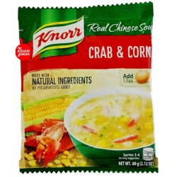 Knorr Crab and Corn Soup Mix 60g Crab and Sweetcorn Soup...