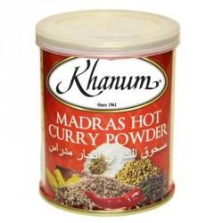 Khanum Madras Hot Curry Powder 100g Hot Curry Powder