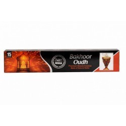 Heera Bakhoor Oudh Agrbatti 15 Sticks of Masala Incense