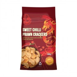 Thai Dragon 100g Sweet Chilli Prawn Crackers