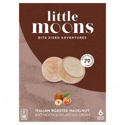Little Moon 192g Soft Mochi Ice Cream Italian Roasted Hazel Nut