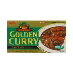 S&B Golden Curry 1kg Japanese Curry Mix Medium Hot