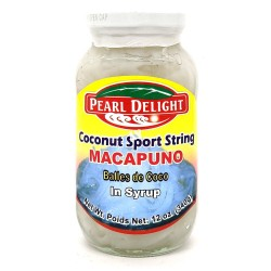 Pearl Delight 340g Coconut Sprout String Macapuno in Syrup