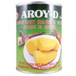 Aroy-d 540g Bamboo Shoot (Halves) in Water