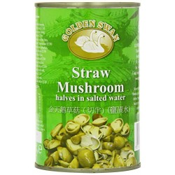 Golden Swan 425g Straw Mushroom halves in Salted Water