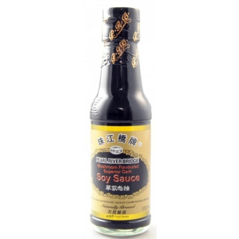 Pearl River Bridge 150ml Mushroom Flavoured Superior Dark Soy Sauce