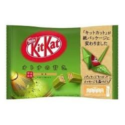 Nestle Kit Kat Mini Matcha Chocolate wefer