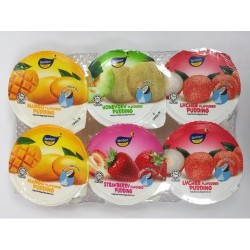 Tenten - 527g - Pudding (Lychee) - Pack of 6