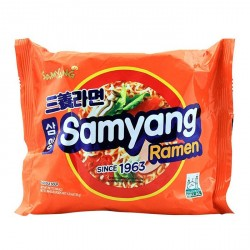 Samyang Ramen box