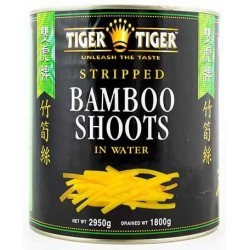 Tiger Tiger Halved Bamboo Shoots 560g in water