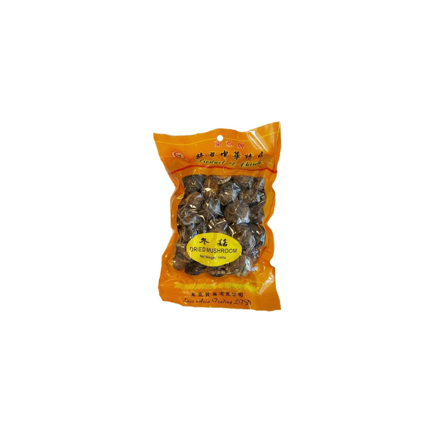 East Asia Brand 200g Dried Mushrooms