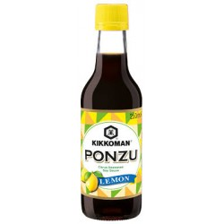 Kikkoman Ponzu Lemon Citrus Seasoned Soy Sauce 250ml