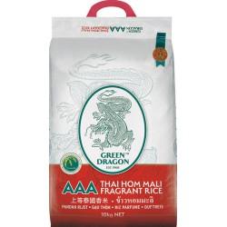2021 Crop Green Dragon Thai Fragrant Rice 10kg £̶1̶8̶.̶9̶0̶ 上等泰國香米  ข้าวหอมมะลิ AAA Thai Jasmine Rice