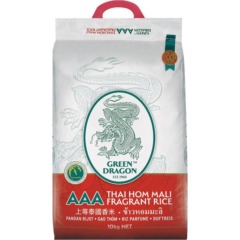 2020 Crop 10kg Green Dragon AAA Thai Rice