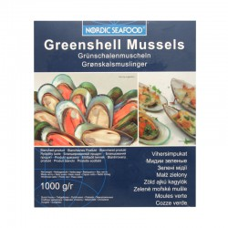 Nordic Seafood Greenshell Mussels 1kg Frozen Greenshell...