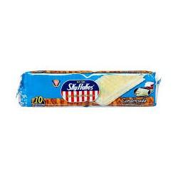 MY San Sky Flakes cracker sandwich sweet milk flavour