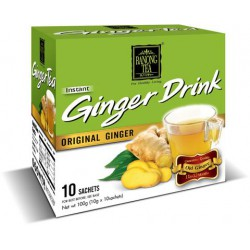 Ranong Tea Instant Ginger Drink 10gx10 sachet Original Ginger Drink