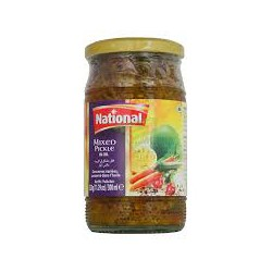 National 320g Mixed Pickle