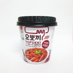 Young Poong Yopokki Hot & Spicy Topokki Rice cake 120g Tteokbokki Cup