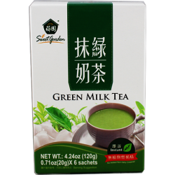 Sweet Garden Green Milk Tea...