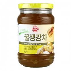 Ottogi Honey Ginger Tea 500g Honey and Ginger Slice Tea