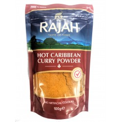 Rajah Hot Caribbean 100g Resealable Pack of Curry Powder