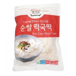 Jongga 1kg Sliced Rice Cake