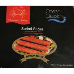 Ocean Classic Crab Sticks 1kg (4x250g) Frozen Surimi...