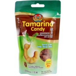 Double Seahorse Tamarind Chewy Sweets 80g Sweet & Sour...