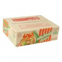 Mama Noodles Tom Yam Thai 30 X 50g flat rice Noodles