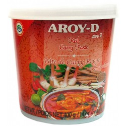 Aroy-D Red Curry Paste 400g...