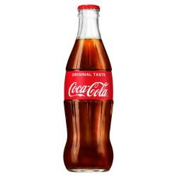 Original Coca-Cola 330ml Coke Glass Bottle