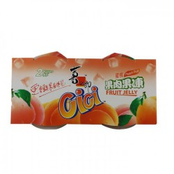 Cici Peach Jelly 400g 2 Cups