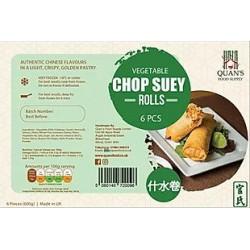 Quan's Vegetable Chop Suey Rolls 600g 6 Pack Frozen Chop...