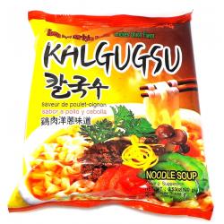 Samyang Kalgugsu Noodles Chicken & Onion Korean Style Knife Cut 칼국수 100g Kalguksu Instant Noodle