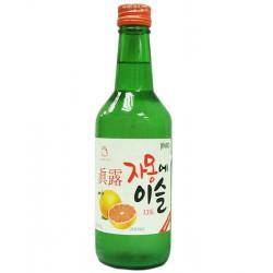 Jinro Grapefruit Soju 13% by Vol Korean Cham Yi Sul Soju...